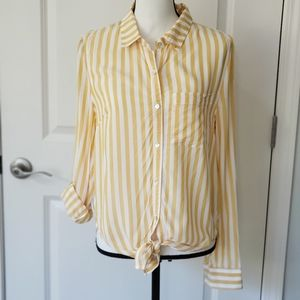 LOVE TREE | Striped Blouse, Size S